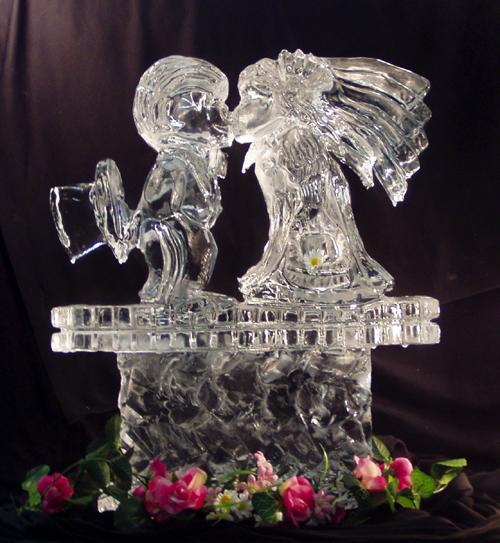 sculpturi din gheata